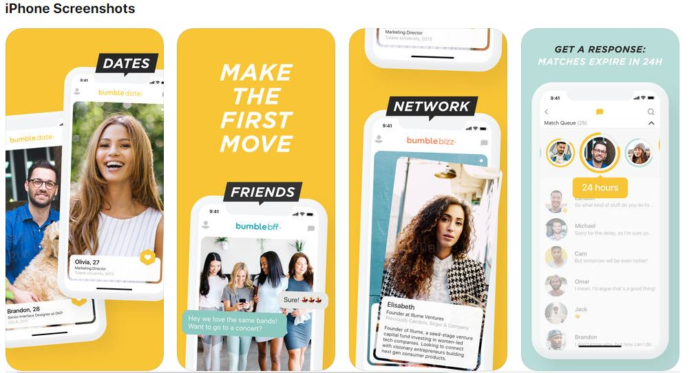 Bumble - Meet New People 17+